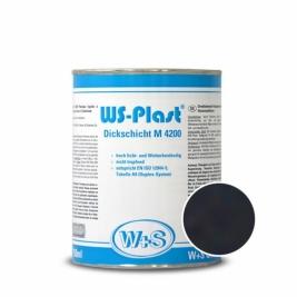Краска WS-Plast 0001 черный 2,5л