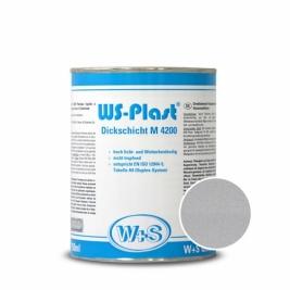 Краска WS-Plast 0004 Серебро