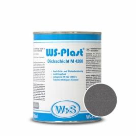 Краска WS-Plast 0008 Темный графит