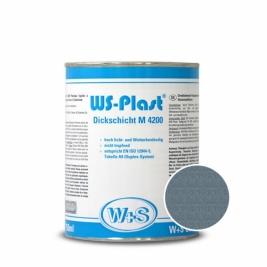 Краска WS-Plast 0017 Металлик-бирюза