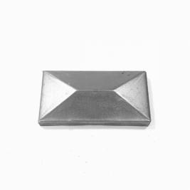 19480-100х50 Заглушка столба 100х50 мм