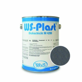 Краска WS-Plast 0003 светлый графит 2,5л